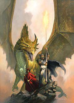 Cyan Bloodbane from Dragonlance