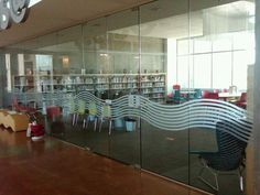 Etched Vinyl at Sacramento Public Library