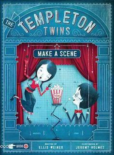 Professor Templeton has been hired by the Thespian Academy of the Performing Arts and Sciences to invent something—anything—important (and profitable), but the 13-year-old twins, Abigail and John, are suspicious and determined to investigate. Grades 6 & Up. Book: http://iii.ocls.info/record=b1927619~S1.