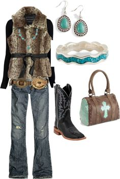 polyvor, nfr round, girl outfits, pretti cloth, black boots