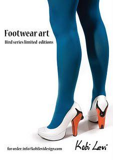 Amazing swan shoes