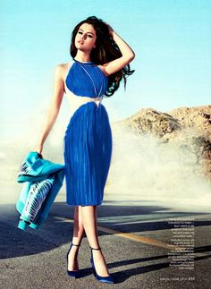 Selena Gomez for InStyle