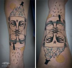 Tattoos by Art Collaborators Expanded Eye tattoos illustration