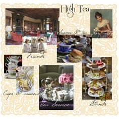 """Summer Reruns Home Scavenger Hunt: High Tea Edition"" by krskinner on Polyvore"