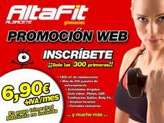 Web AltaFit Albacete