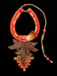 Gretchen Schields - African Orange Brocade