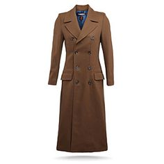 ThinkGeek :: Doctor Who Ladies' 10th Doctor's Coat $329