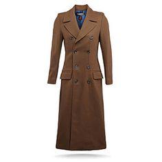 ThinkGeek :: Doctor Who Ladies' 10th Doctor's Coat $329