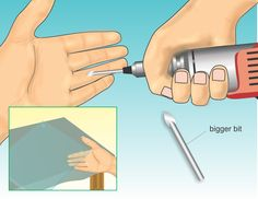 How to Drill Holes Through Glass via www.wikiHow.com