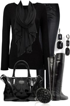 """""""BlackOut"""" by lagu ❤ liked on Polyvore"""