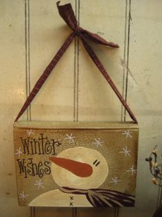 Warm Wishes Hanging Book