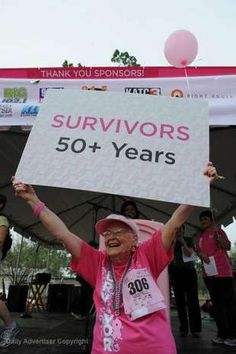 My Mother is 85 years old and has been a breast cancer survivor for 51 years!  Praise God!