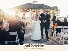 Rebecca and Andrew's Spruce Point Inn Wedding
