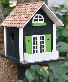 Take a look at this Heart Cottage Birdhouse by Home Bazaar on #zulily today!