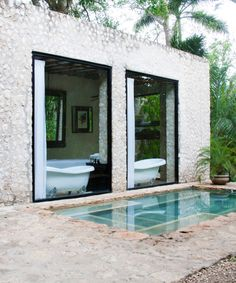 Coqui Coqui Residence and Spa in Mexico via Lonny