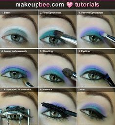 Step-By-Step Tutorial for Purple Water ♥