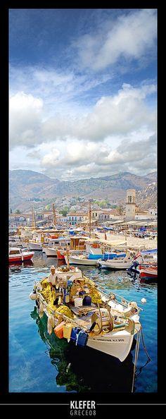 Greek fish boat
