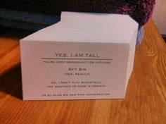 Calling Cards for Tall People - Neatorama