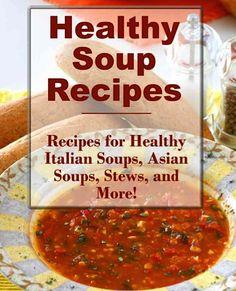 FREE e-Cookbook: Healthy Soup Recipes
