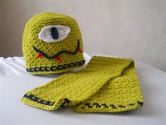 Lemey The Monster Hat and Scarf Set - Media - Crochet Me