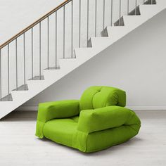 Hippo Futon Lime now featured on Fab.