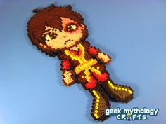 Prince Zuko from Avatar the Last Airbender Custom Chibishou Bead Sprite. $15.00