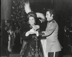 Princess Grace shares a laugh as she dances with Jacques Chazot in 1968