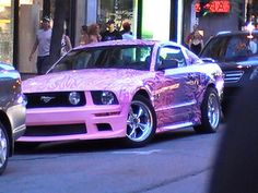 pink mustang