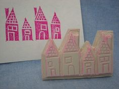 Little house stamp
