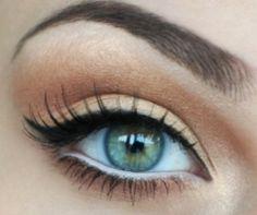 White eyeliner technique...