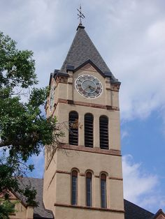 Lincoln County Courthouse Tower (Canton, South Dakota)  You can power your DeLorean from this clock tower Marty.