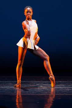 Michaela DePrince, Dance Theatre of Harlem. @dthballet danc theatr, dance theatre of harlem