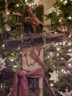 Artesanías en madera, muñeco de nieve  -   Christmas wood craft ideas, Snowman