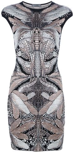 Alexander McQueen Dragonfly Dress