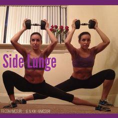 Side lunge