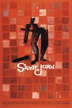 Saint Joan by Saul Bass