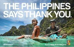 "The government has launched a global ""Thank You"" campaign on February 8, at 4:40 a.m., exactly three months since ""Yolanda"" hit land in Guiu..."