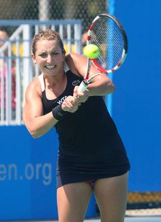 9/22/14 Timea Bacsinszy Upsets #13-Seed Ekaterina Makarova 6-4, 6-1 to advance to the 3rd rd of the Inaugural Wuhan Open.