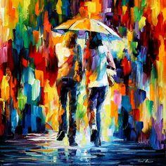 Friends Under The Rain