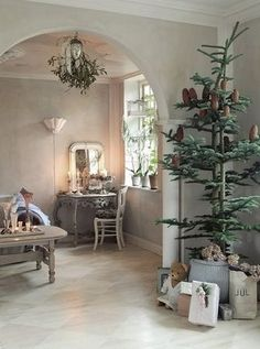 Christmas in Sweden. So simple.