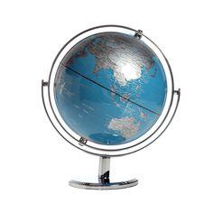 "Globe 8"" Tiffany Blue"