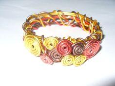 Tri Color Wire Bracelets
