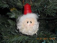 2006 Xmas Ornament-Santa
