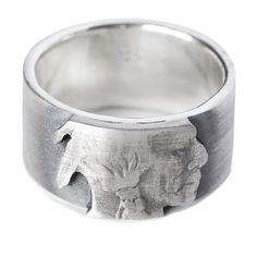 Indian Head Nickel Ring