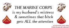 Marine Corps Wife & PROUD!! OOH-RAH!