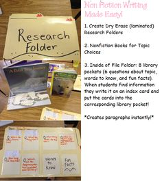 Perfect for Nonfiction Research & Writing!