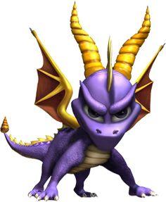 "Spyro from ""Spyro the Dragon"""