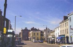 High street looking towards town hall