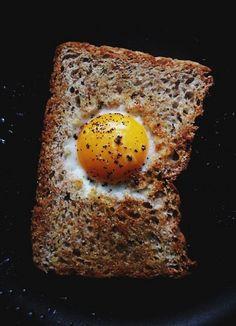 Egg in a basket !!