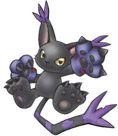 BlackGatomon - Champion level Demon Beast digimon
